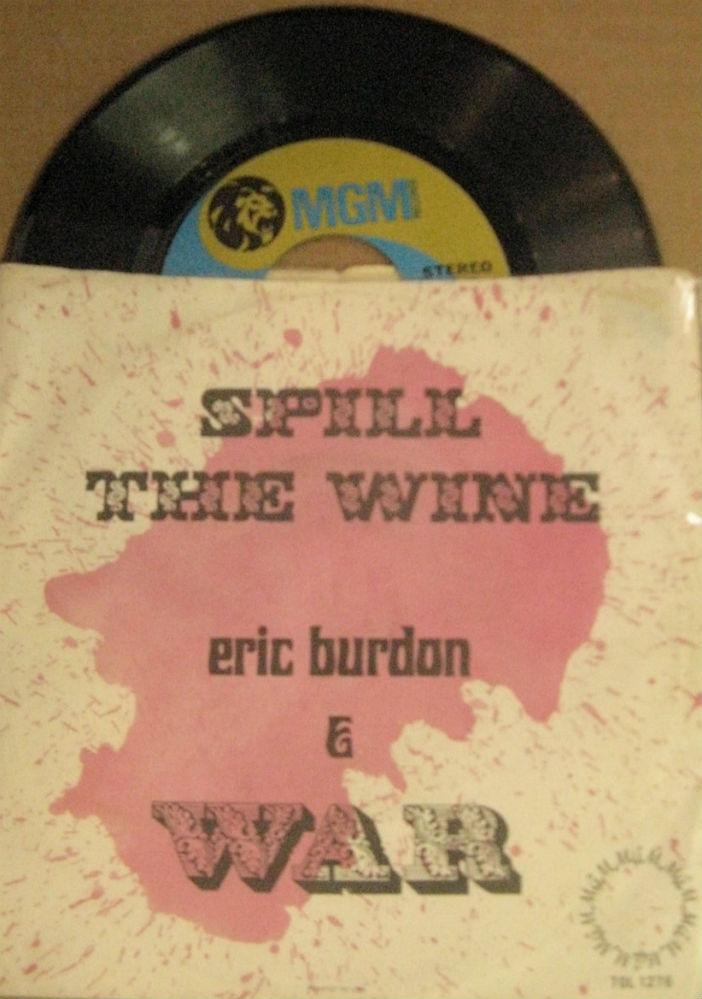 Eric Burdon & War / Spill The Wine