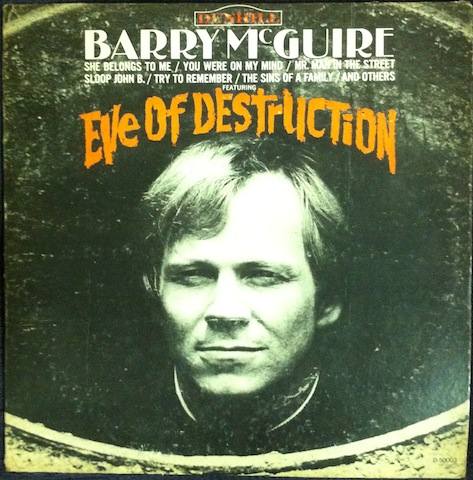Barry McGuire - Eve Of Destruction Record