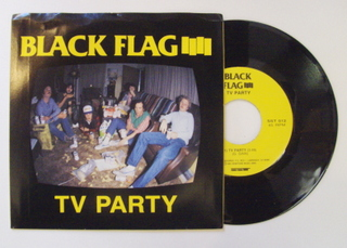 Black Flag - Tv Party Record