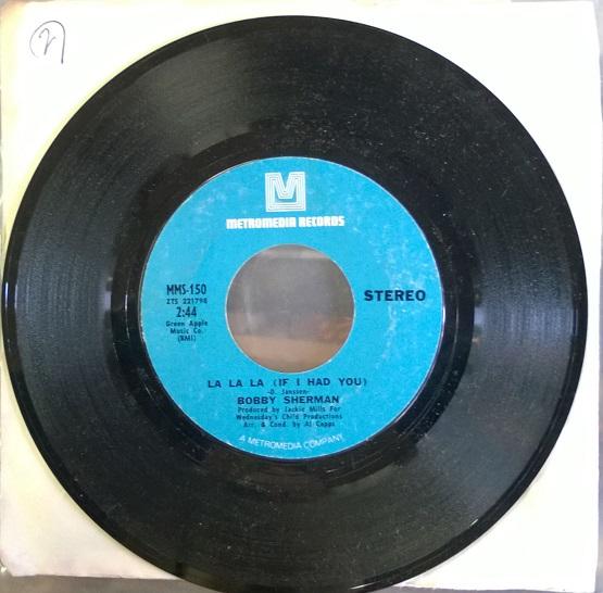 Bobby Sherman / La La La (If I had You)