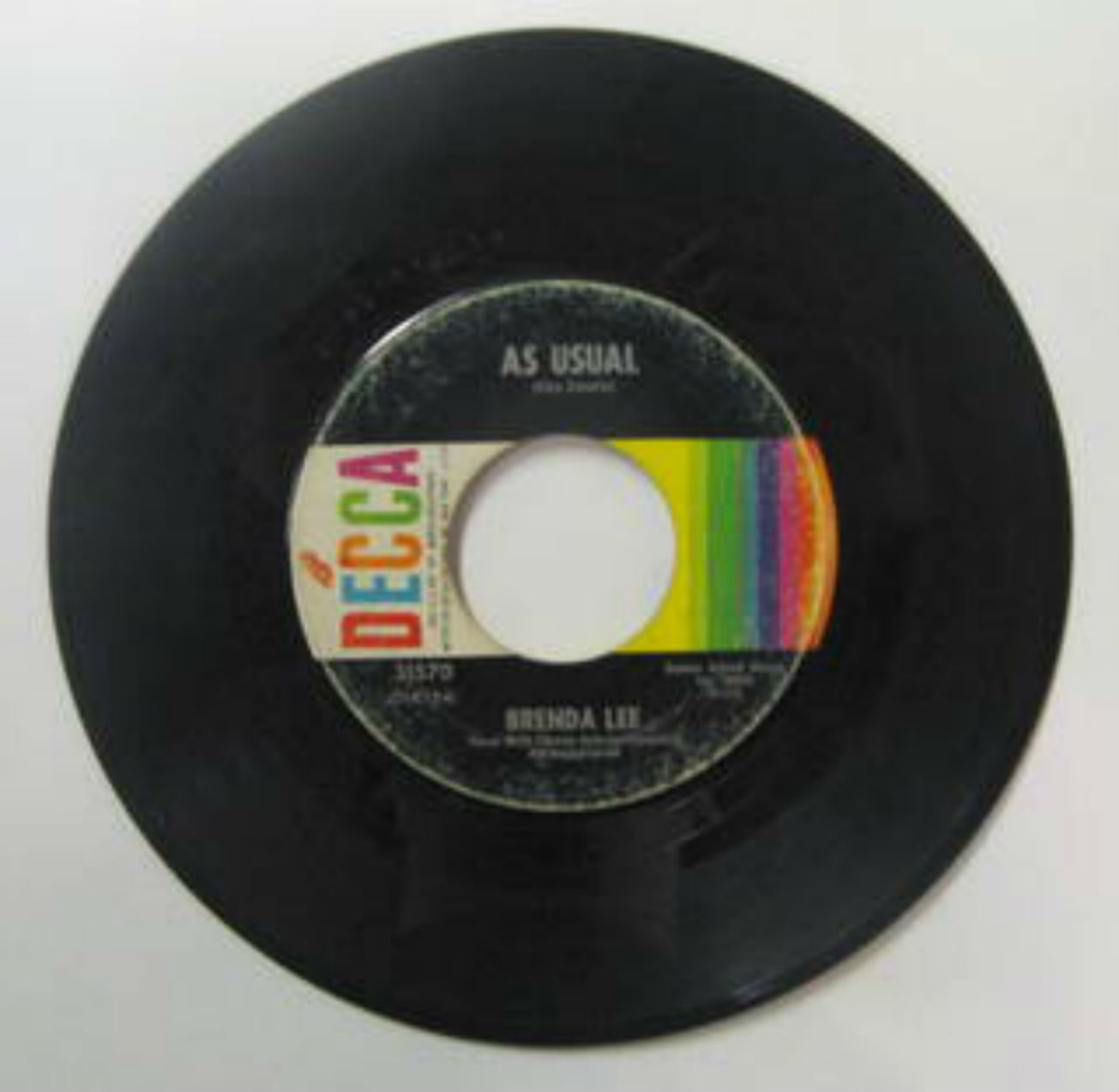 Brenda Lee As+Usual 7''