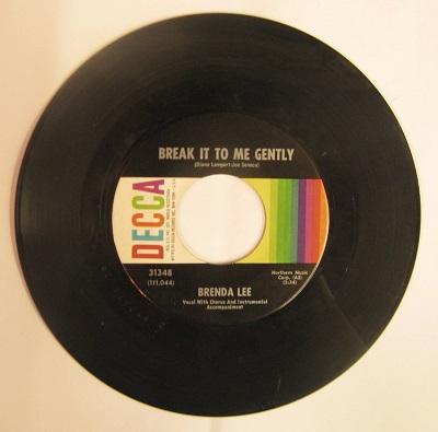 Brenda Lee / Break It To Me Gently