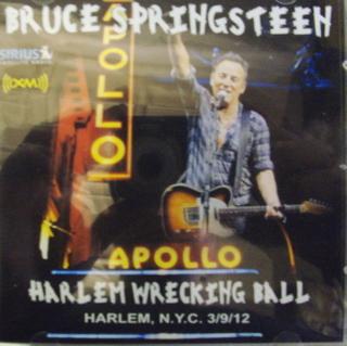 Bruce Springsteen Harlem Wrecking Ball