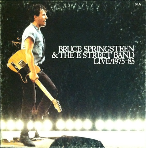 BRUCE SPRINGSTEEN & THE E STREET BAND - Live 1975-85 - LP