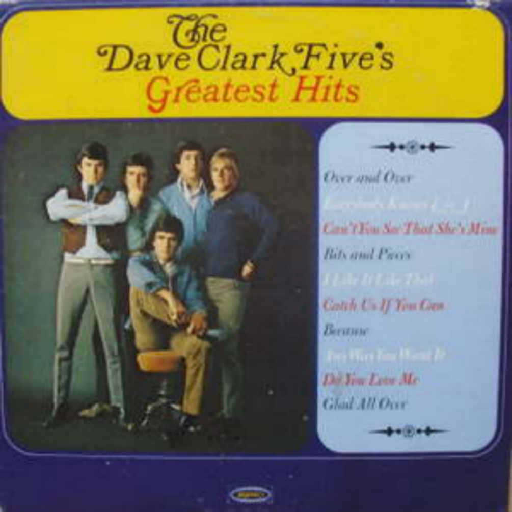 Dave Clark Five - Greatest Hits LP