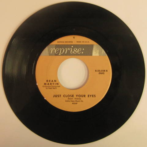 Dean Martin / Just Close Your Eyes