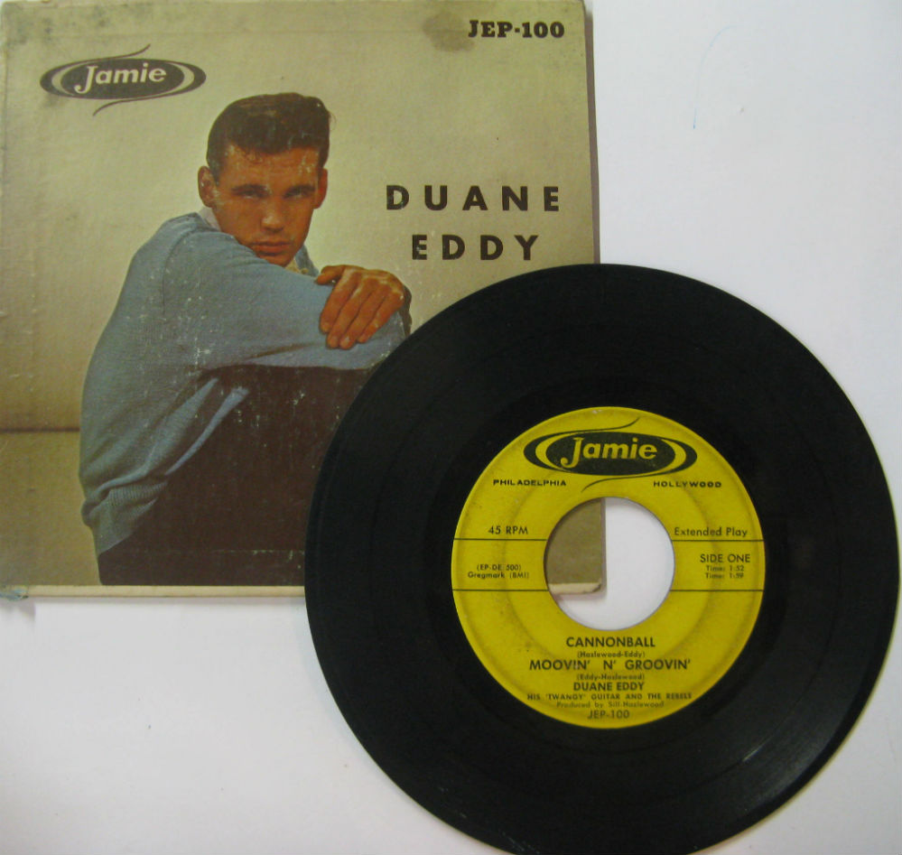 Duane Eddy Cannonball/Moovin'n'Groovin 7''