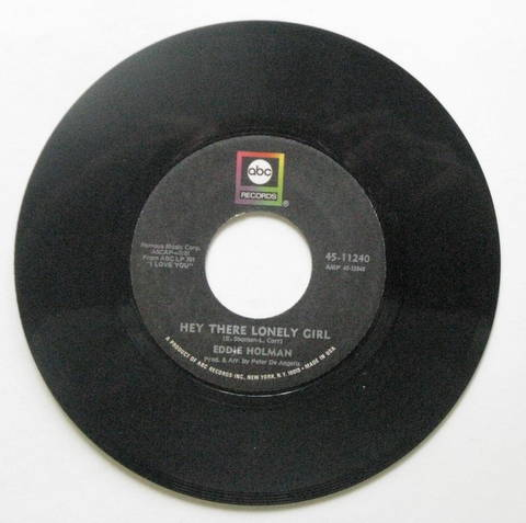 Eddie Holman - Hey There Lonely Girl Record