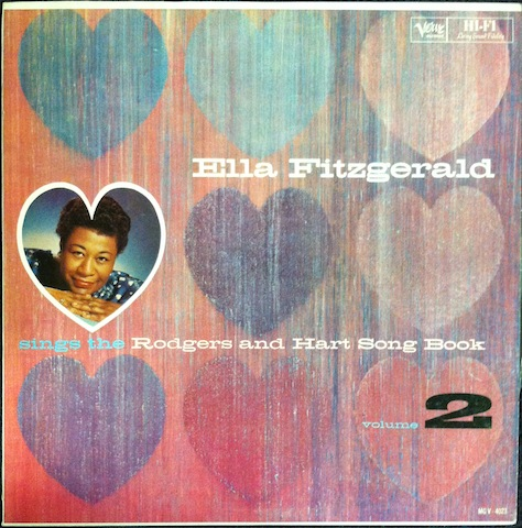 Ella Fitzgerald - Sings The Rodgers And Hart Song Book, Volume 1
