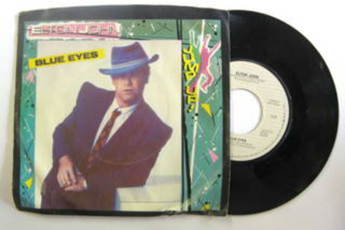 Elton John - Blue Eyes Record