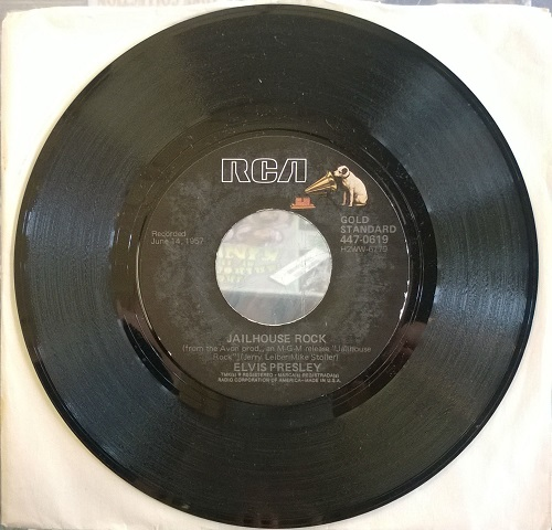 Elvis Presley - Jailhouse Rock Ep Record