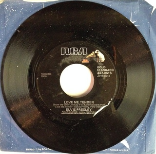 Elvis Presley / Love Me Tender EP