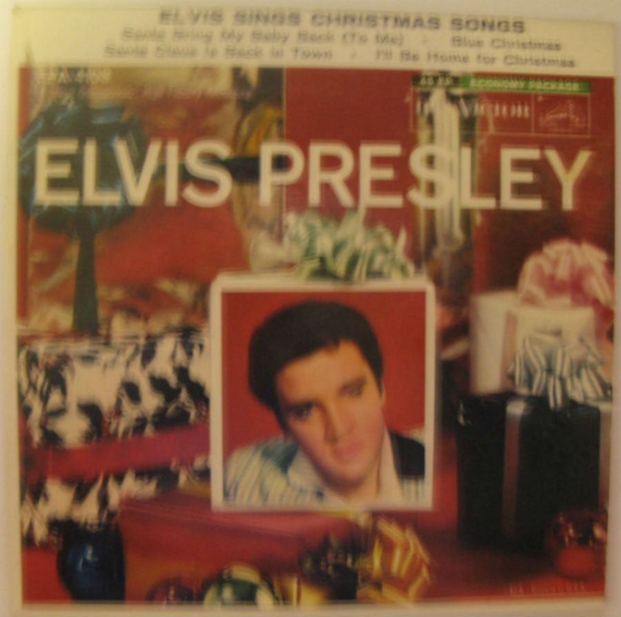 Elvis Presley - Elvis Sings Christmas Songs Ep