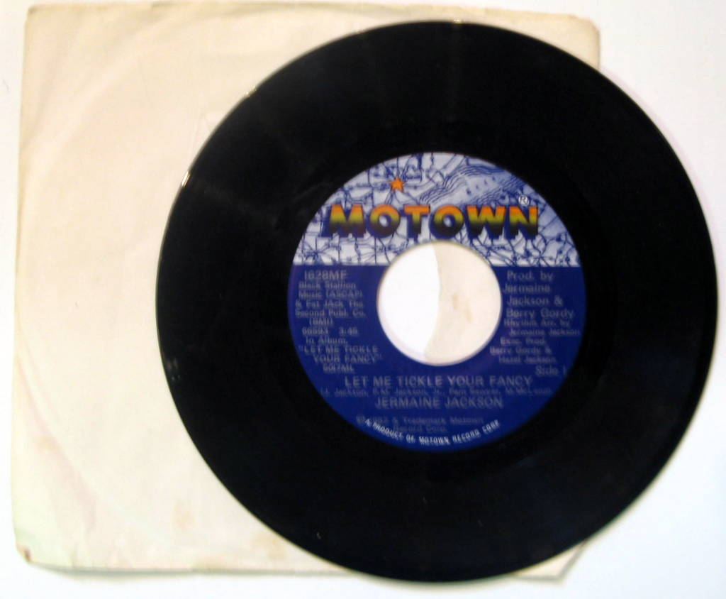 Jermaine Jackson Let+Me+Tickle+Your+Fancy 7''