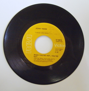 Jerry Reed When+You're+Hot,+You're+Hot 7''
