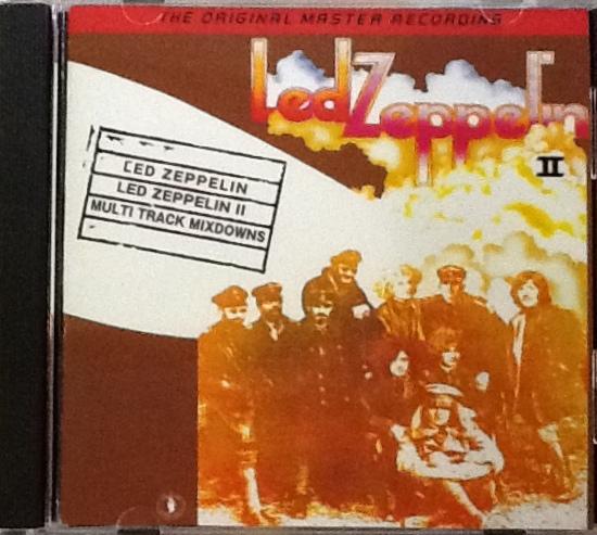Led Zeppelin / Led Zeppelin II Multi Track Mixdowns