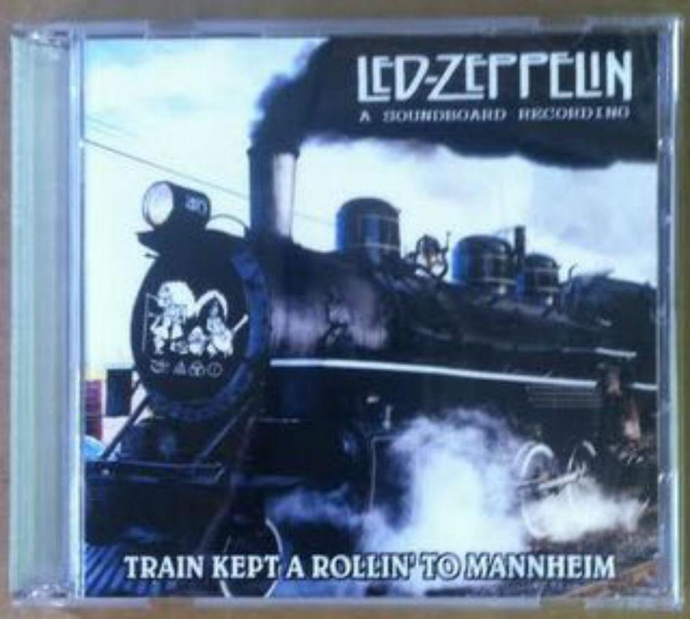 Led Zeppelin / Train Kept Rollin' To Mannheim