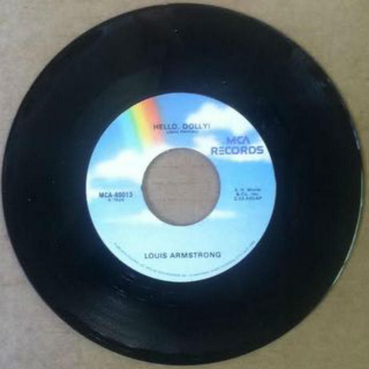 Louis Armstrong - Hello, Dolly Record