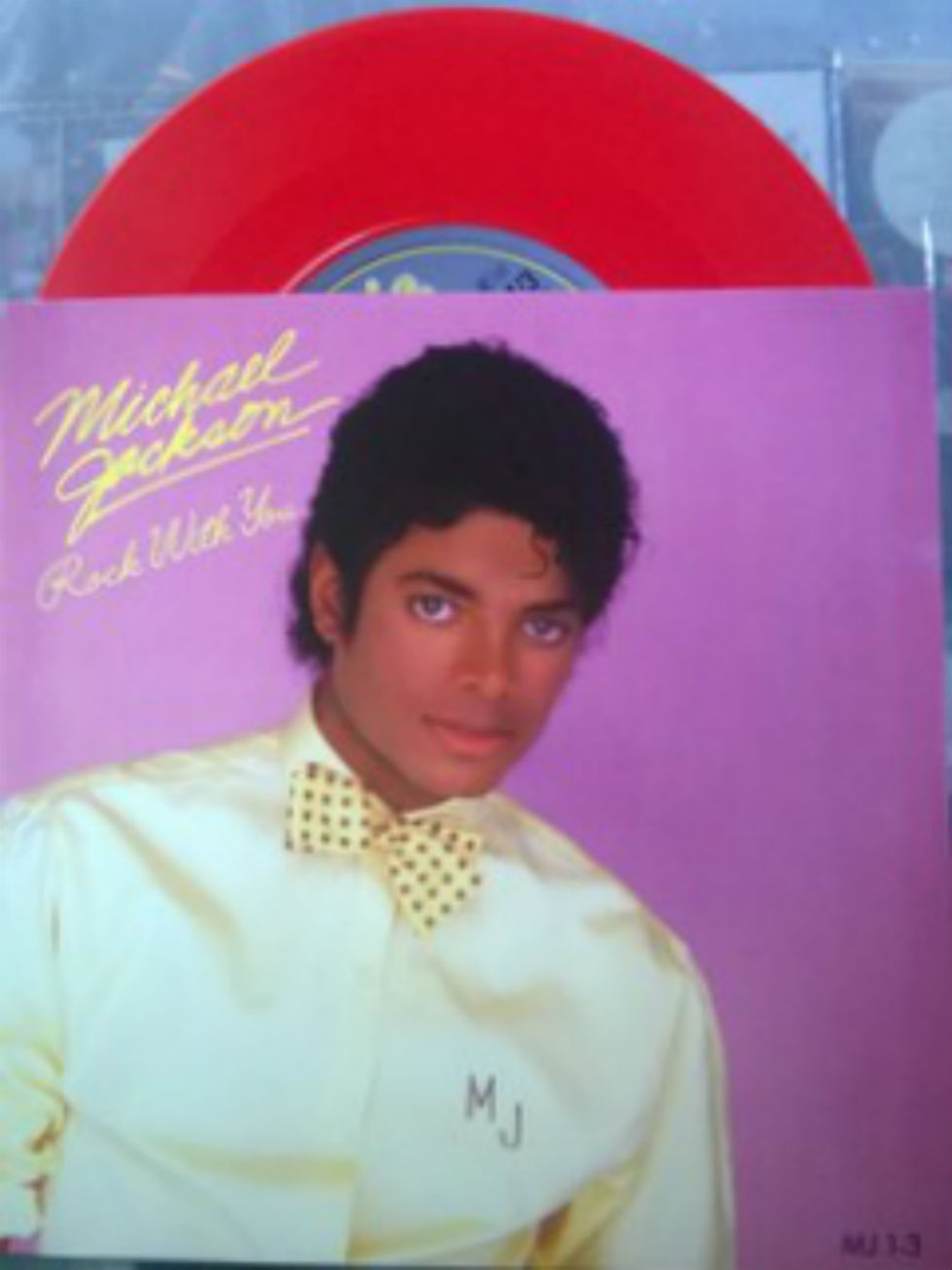 Michael Jackson Rock+With+You 7''
