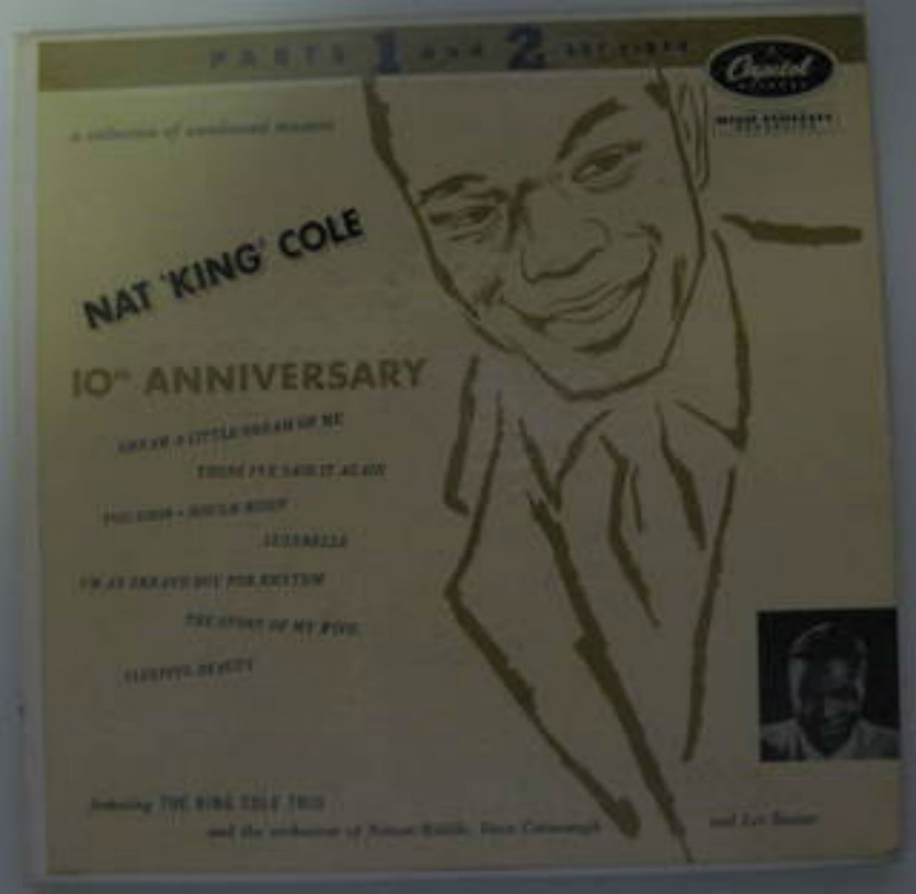 Nat 'King' Cole / 10th Anniversary EP Parts 1 And 2