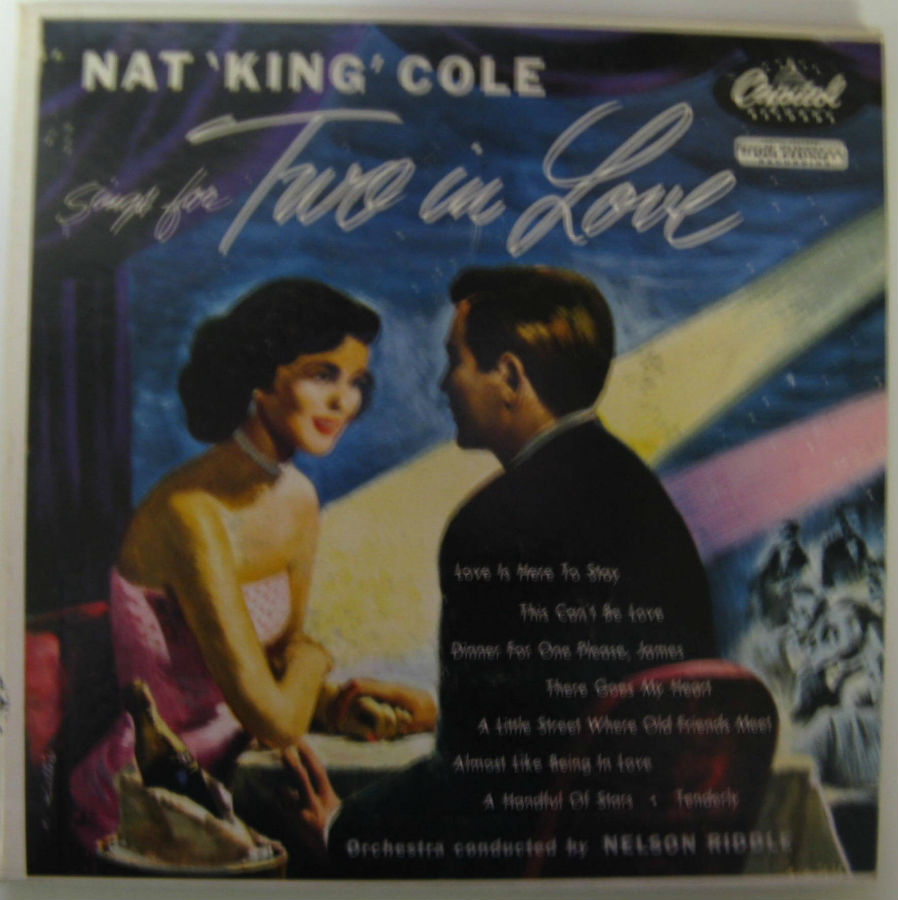 Nat King Cole - Sings For Two In Love Ep