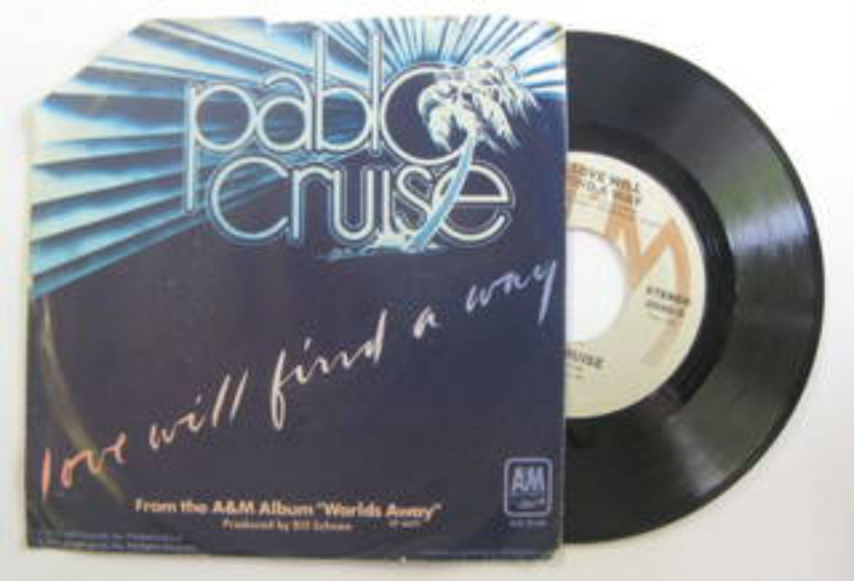 Pablo Cruise Love+Will+Find+A+Way 7''