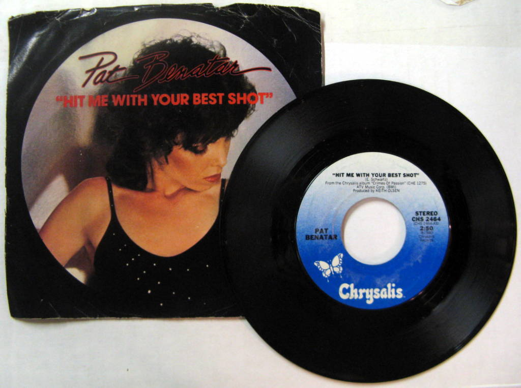 Pat Benatar Hit+Me+With+Your+Best+Shot 7''