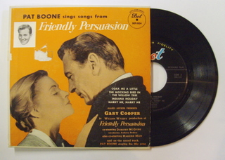 Pat Boone / Friendly Persuasion EP
