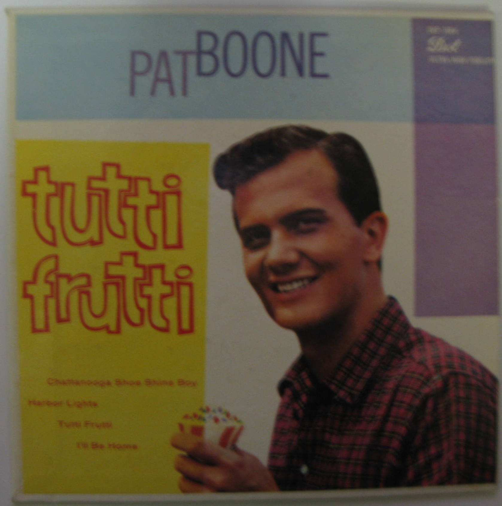 pat boone tutti frutti records lps vinyl and cds