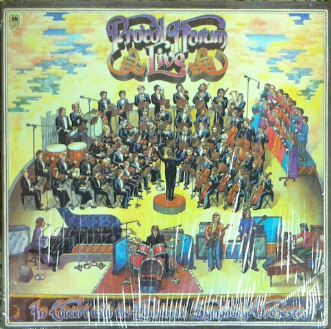 Procol Harum Live+In+Concert+With+The+Edmonton+Symphony+Orchestra LP