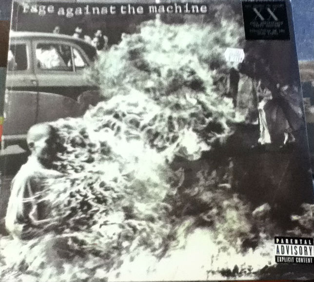 Rage Against The Machine - Rage Against The Machine Record