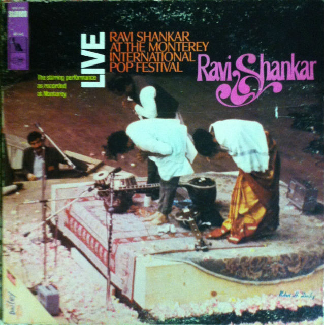 RAVI SHANKAR - At The Monterey International Pop Festival - LP