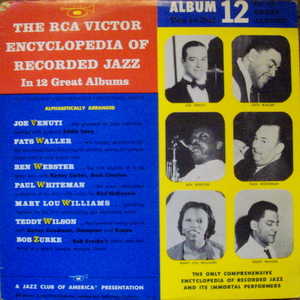 Joe Venuti, Fats Waller, Ben Webster, Mary Lou Willia - Rca Victor Encyclopedia Of Recorded Jazz: Album 12 10""