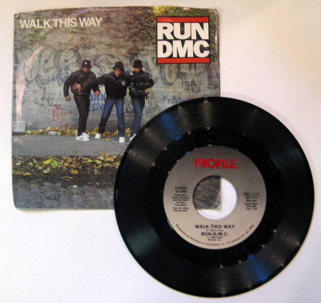 Run Dmc Walk+This+Way 7''