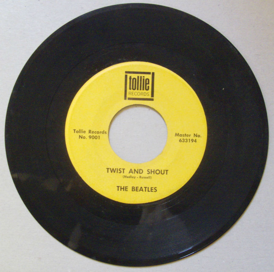 Beatles - Twist And Shout Single