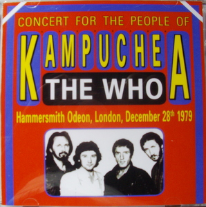 Who / Concert for the People of Kampuchea