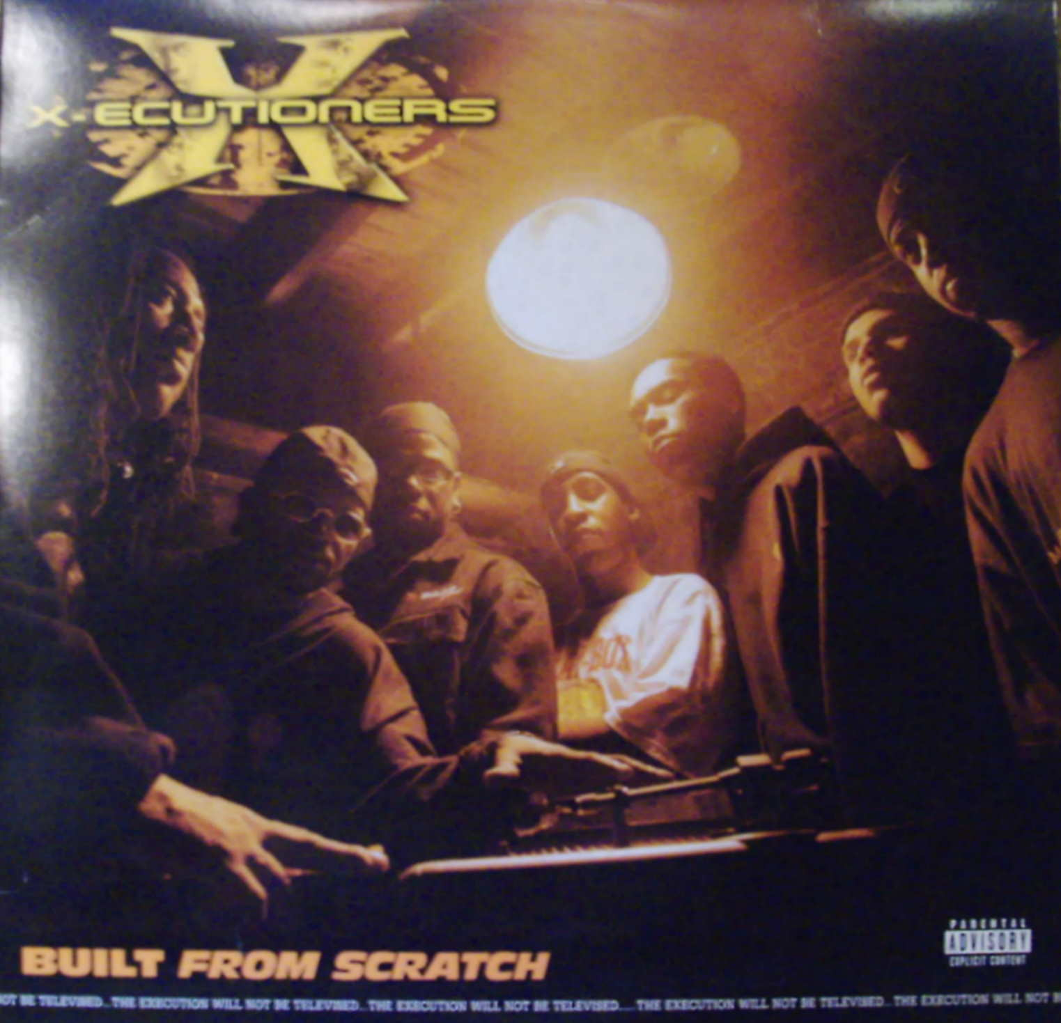 X-Ecutioners - Built From Scratch LP