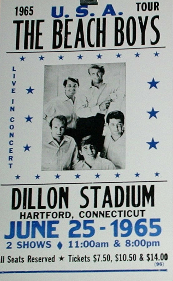 Beach Boys 1965 Usa Tour