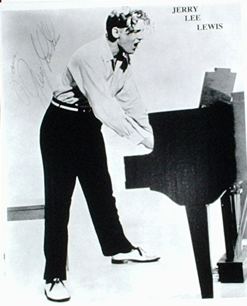 Jerry Lee Lewis / Playing The Piano