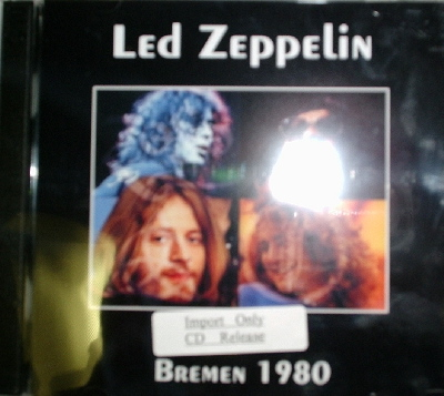 Led Zeppelin / Bremen 1980