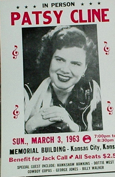 Patsy Cline / 1963 Kansas City