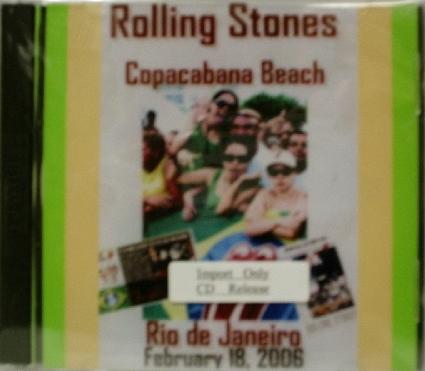 Rolling Stones / Copacabana Beach