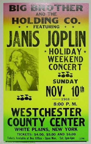 Janis Joplin / West Chester County