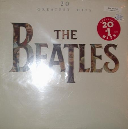 Beatles - 20 Greatest Hits Record