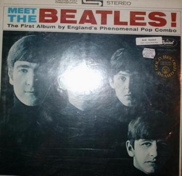 Beatles - Meet The Beatles Vinyl