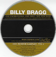 Billy Bragg - 2006 Reissue Sampler