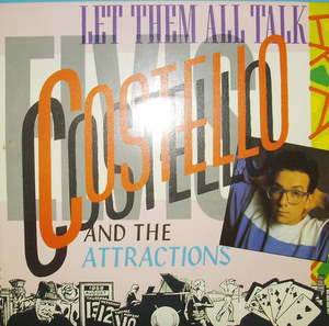 Elvis Costello - Let Them All Talk LP