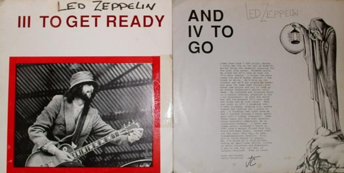 Led Zeppelin - Iii To Get Ready And Iv To Go