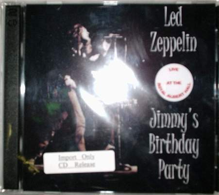 Led Zeppelin / Jimmy's Birthday Party