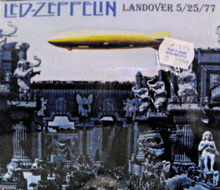 Led Zeppelin / Landover 5/25/77
